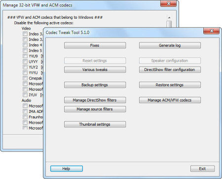 K-Lite Codec Tweak Tool 5.7.0