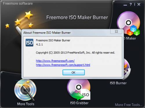 Freemore ISO Maker Burner 4.2.1