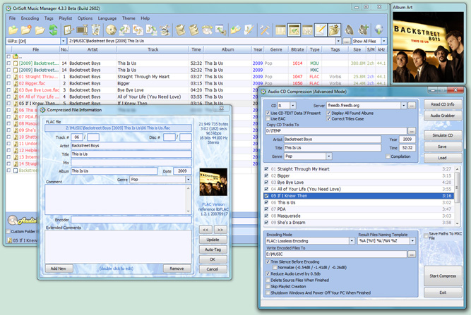 OrlSoft Music Manager 4.3.0 (Build 2433)